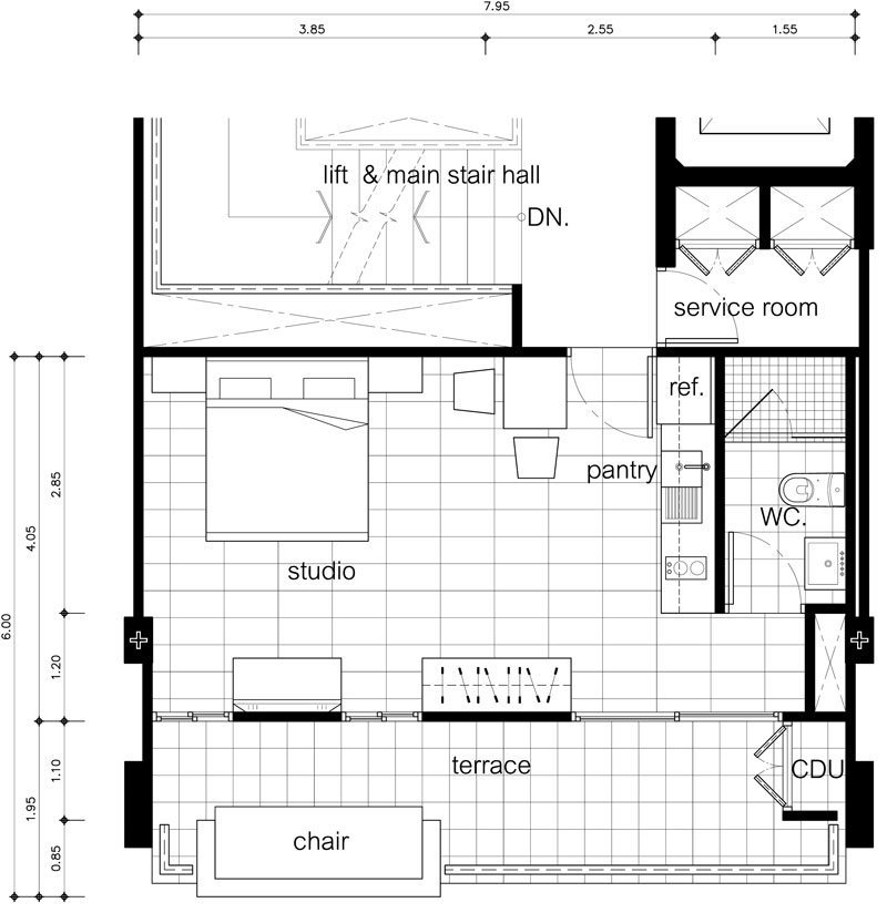 Studio Type Condo Floor Plan Joy Studio Design Gallery